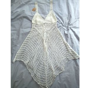 Other - Pretty Crocheted Swimsuit Cover-up Dress